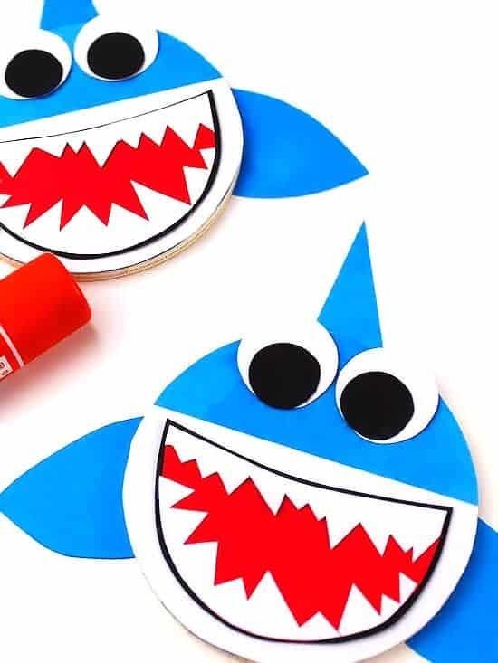 circle shark craft