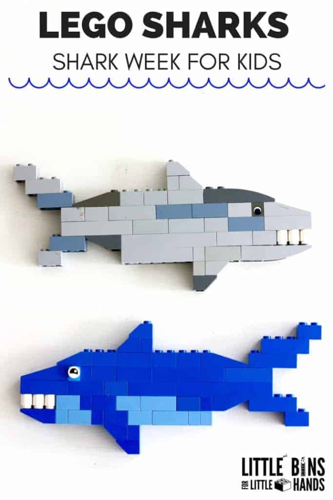 lego sharks