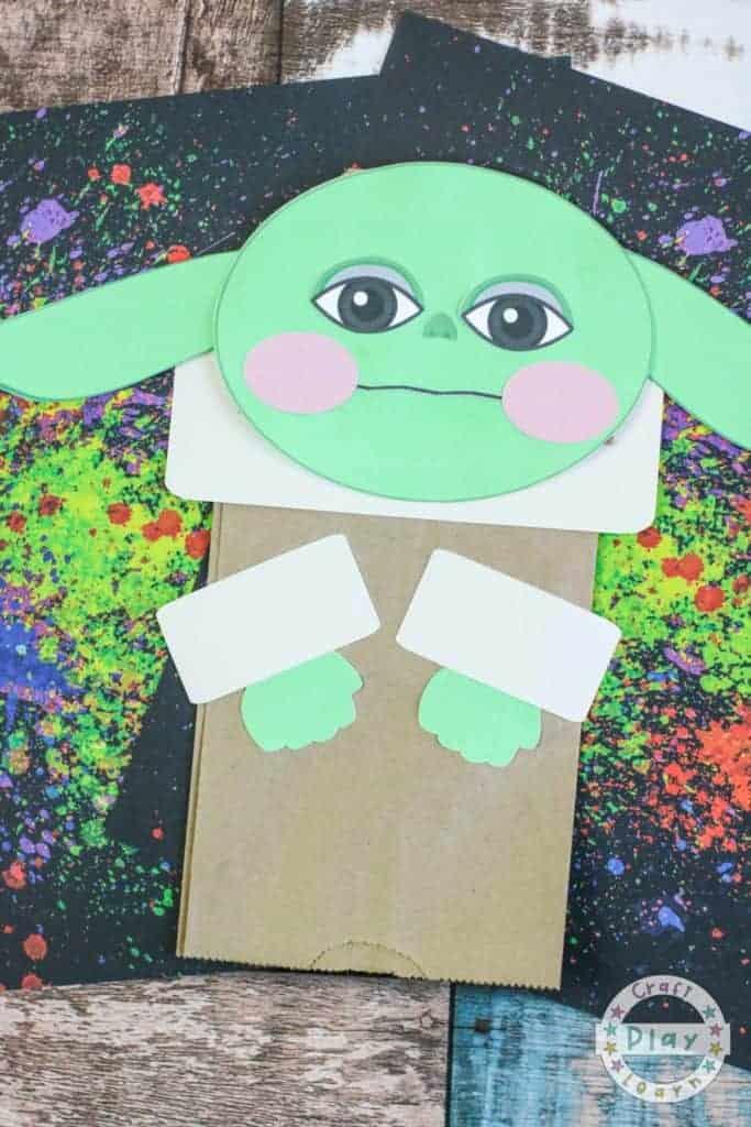 Baby Yoda Puppet