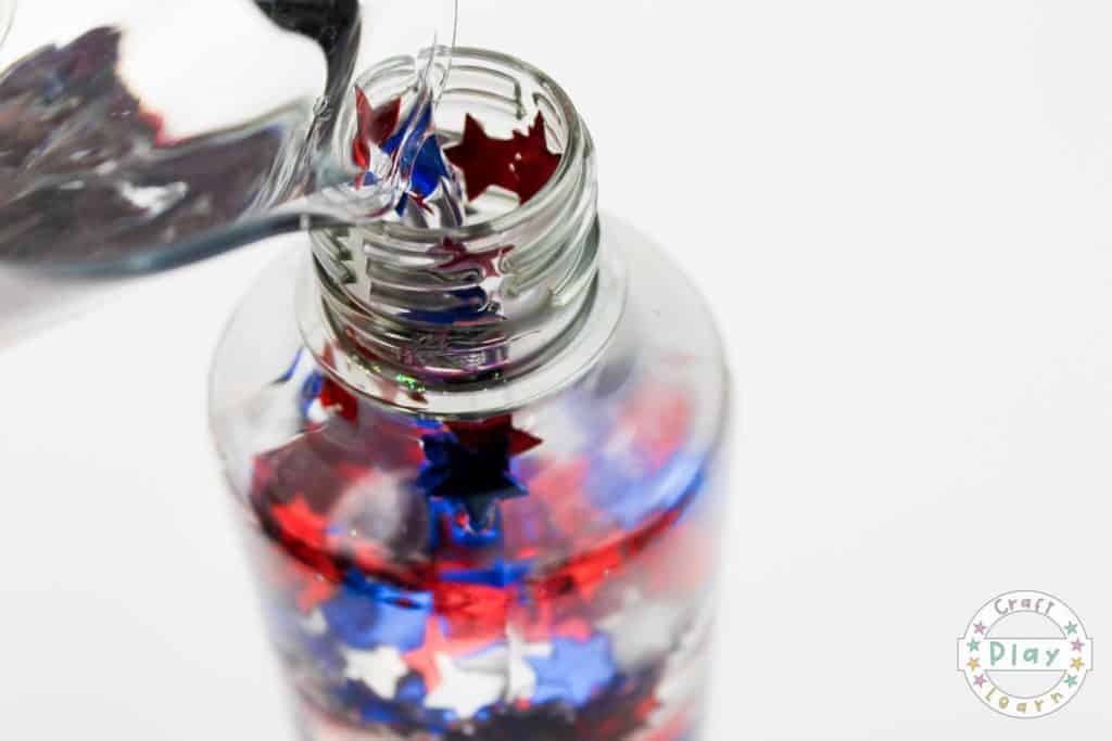 Memorial Day Sensory Bottle