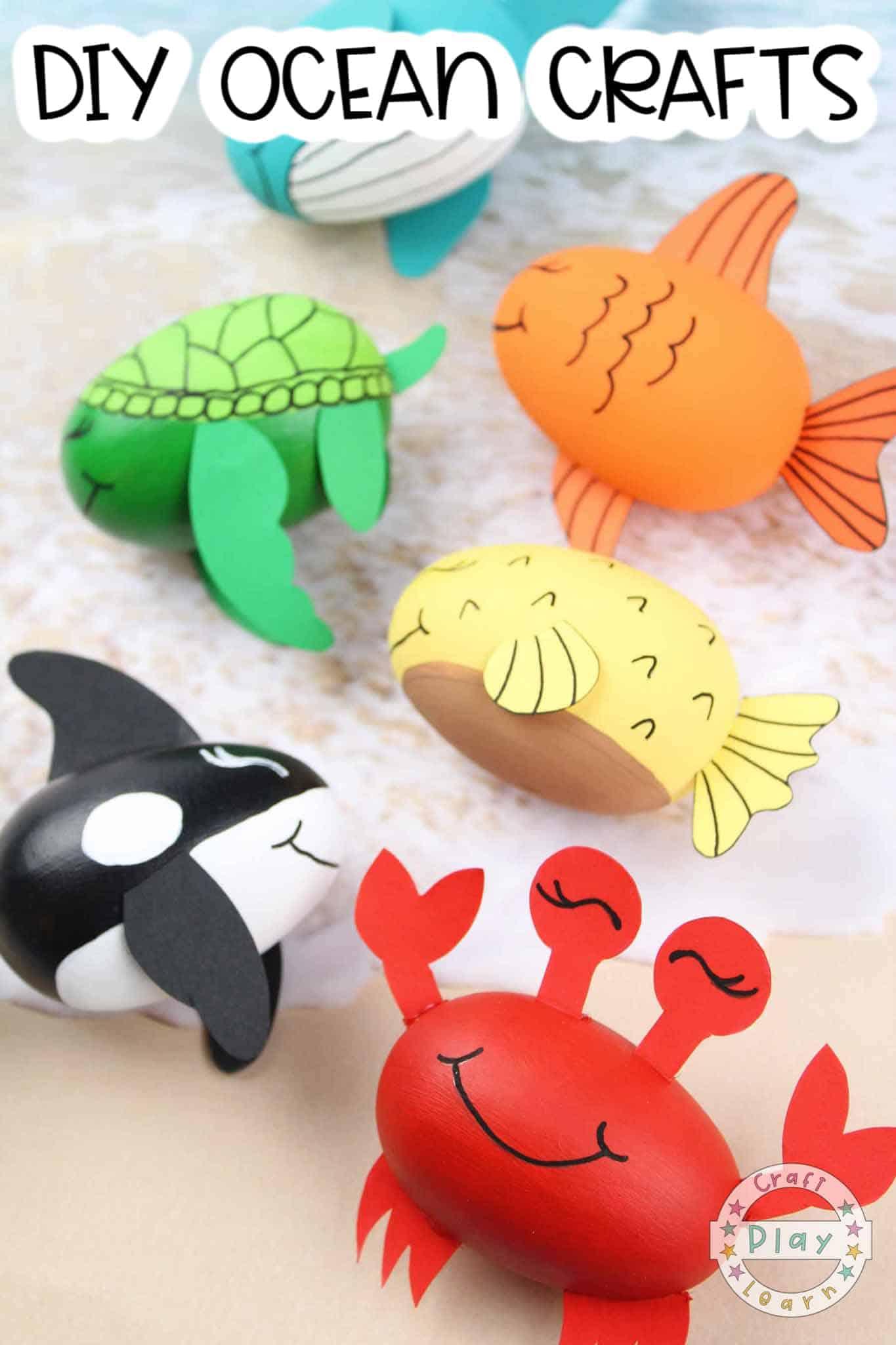 kids ocean crafts