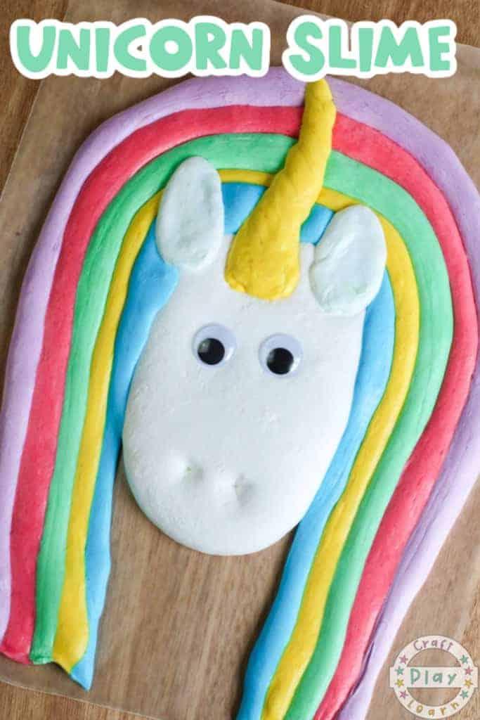 unicorn slime recipe for kids