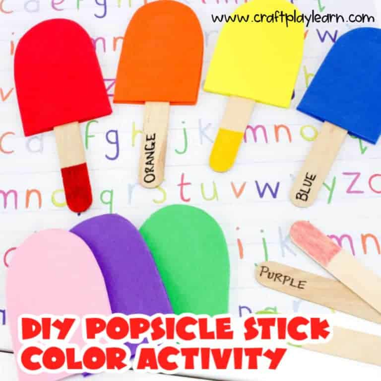 COLOR ACTIVITY FOR KIDS
