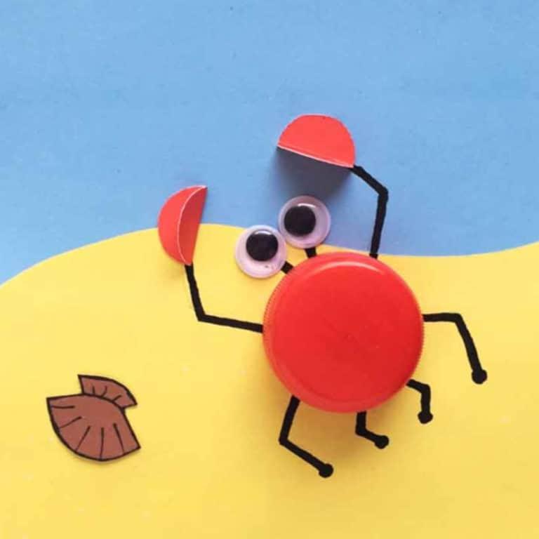 crab bottle top crab