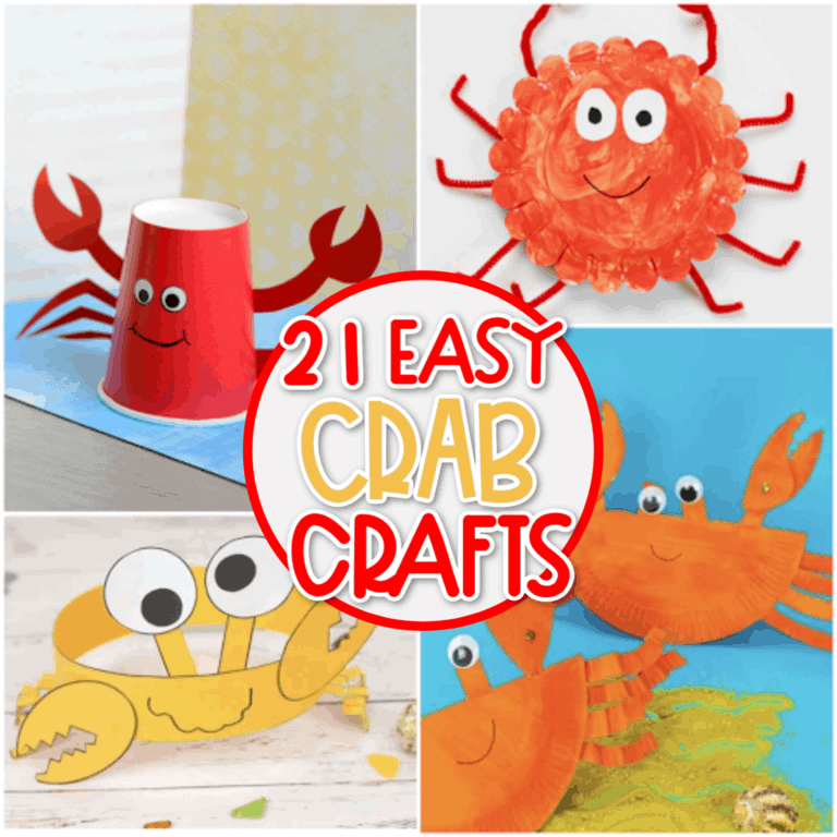 Easy Crab Crafts For Kids