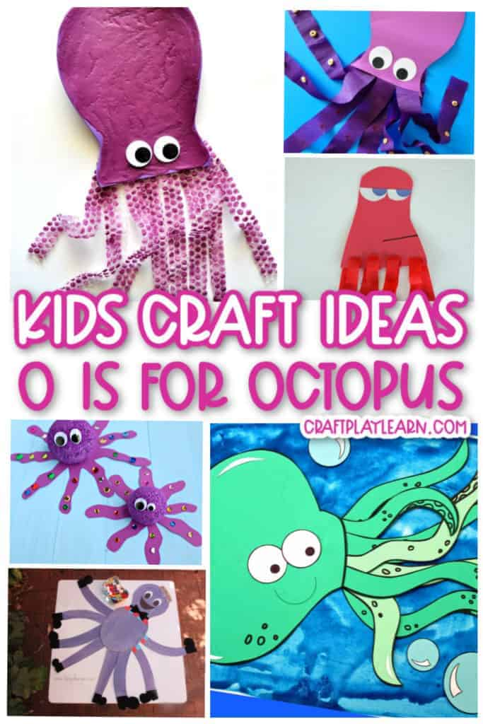 octopus craft ideas for preschool kids