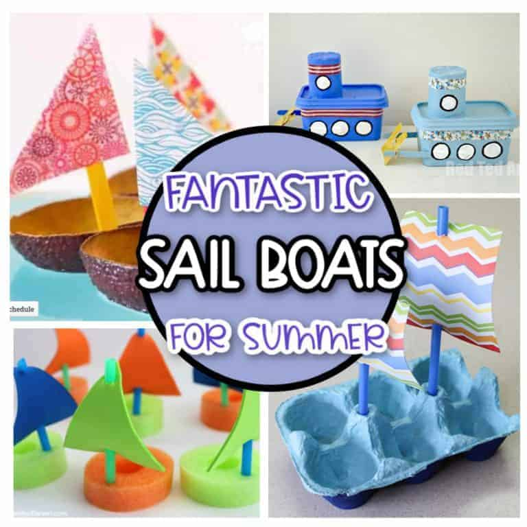 21 sail boat crafts for kids