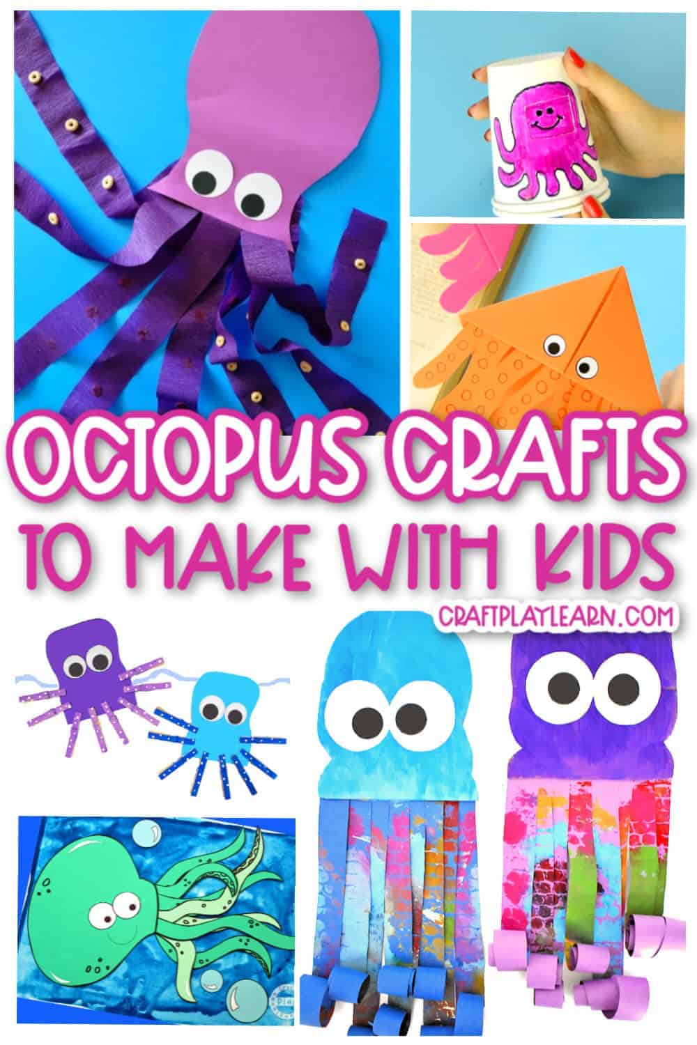 octopus craft activities for toddlers