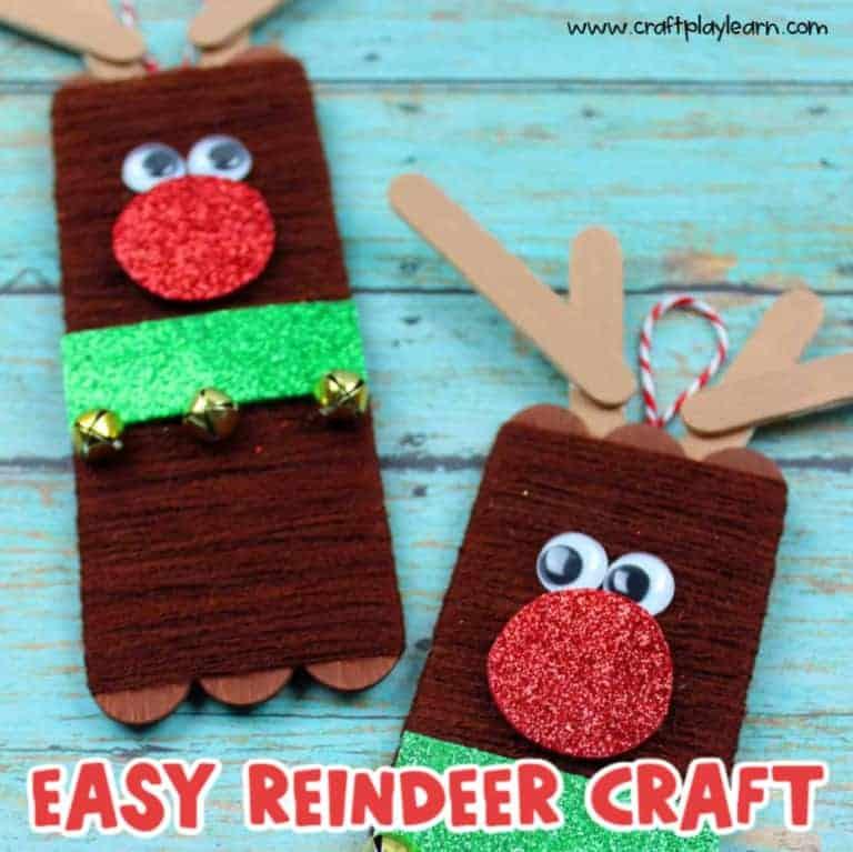 christmas reindeer craft
