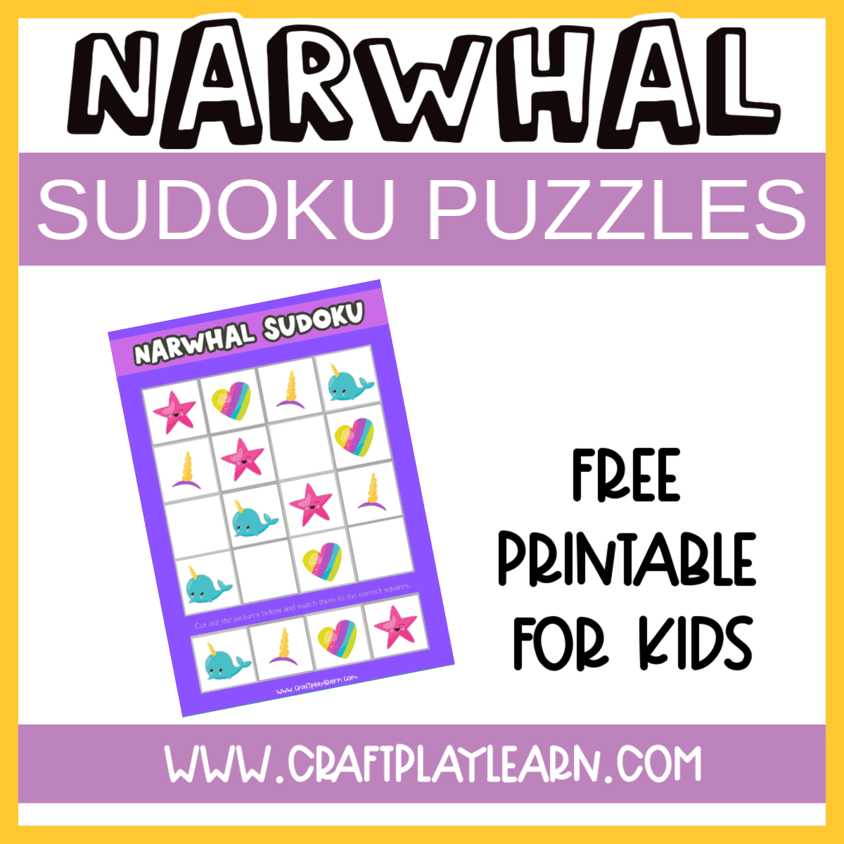 narwhal sudoku puzzles