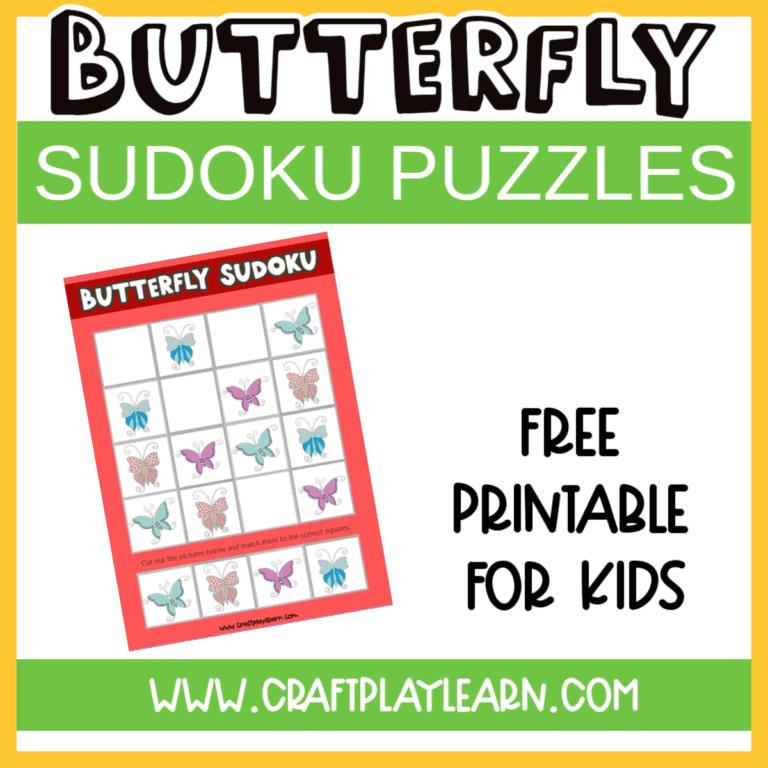 butterfly sudoku puzzles