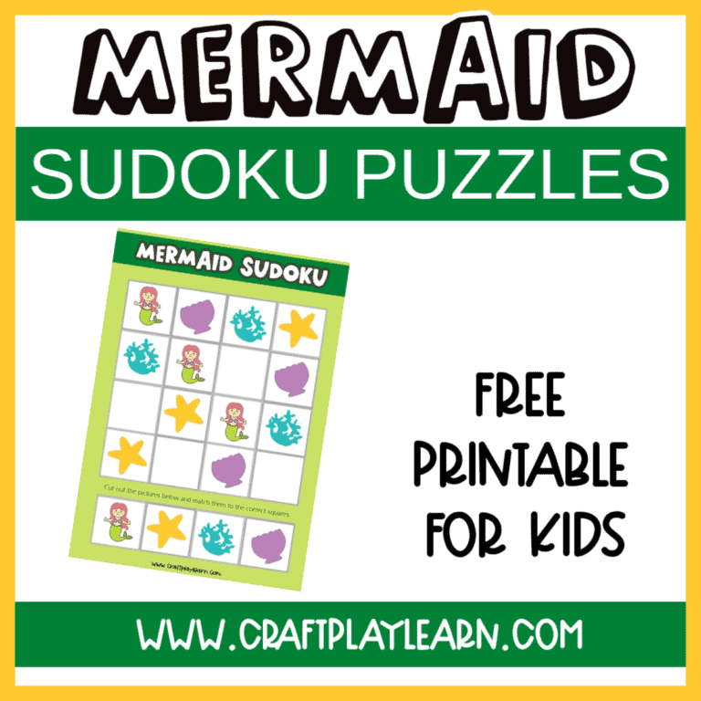 mermaid sudoku puzzles