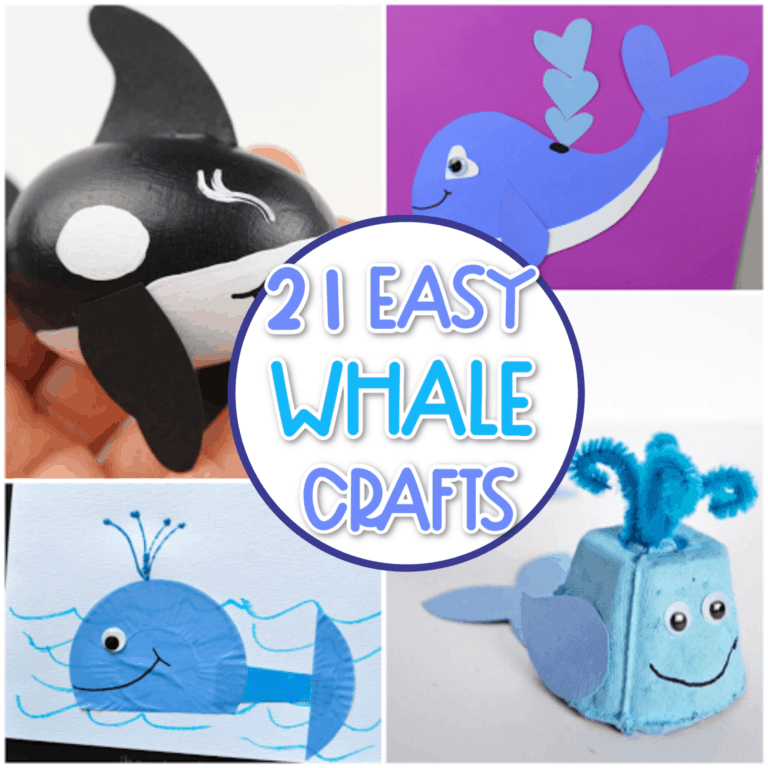 EASY Whale crafts for kids