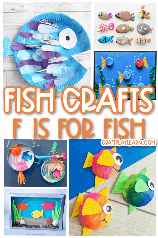 f is for fish craft fir kids