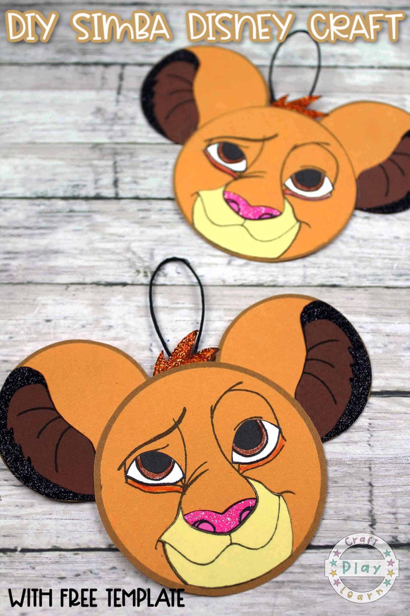 simba craft for kids