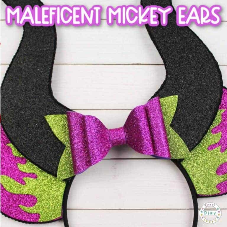 how to make diy mickey ears