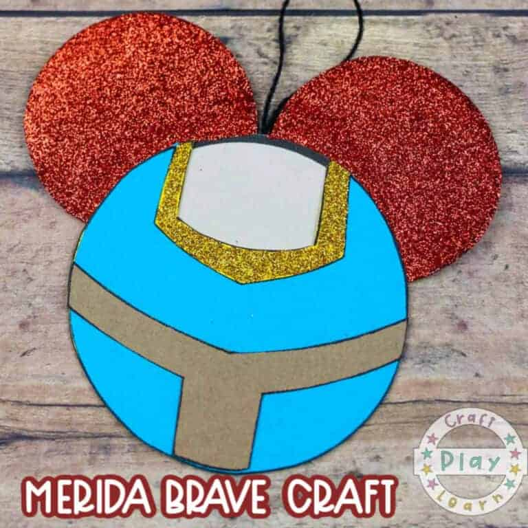 brave merida bear craft