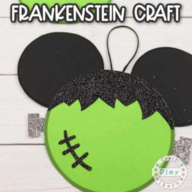frankenstein mickey craft