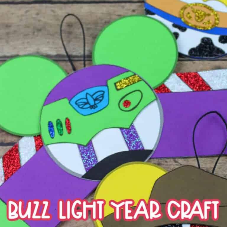 buzz light year craft