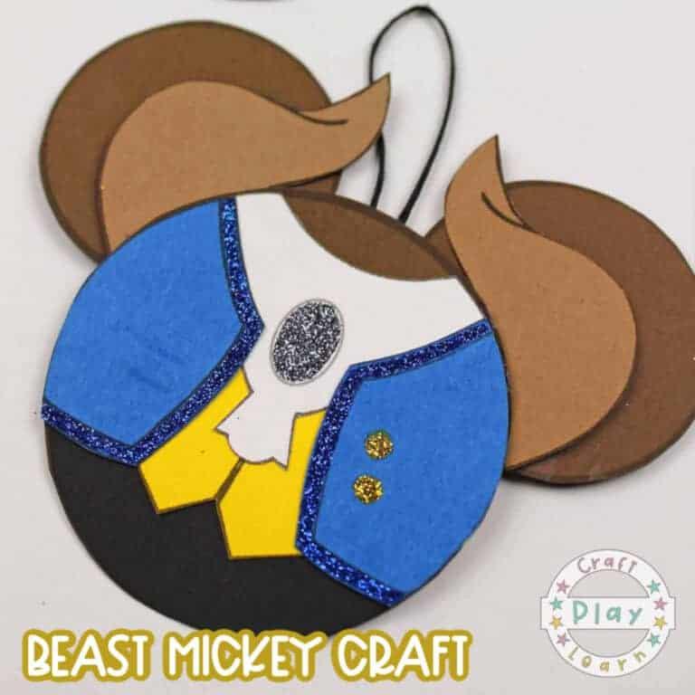 disney beast ears craft