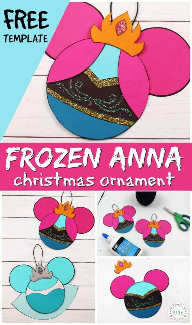 frozen anna supplies