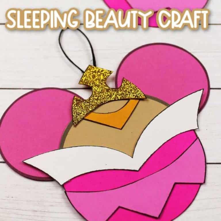 sleeping beauty craft