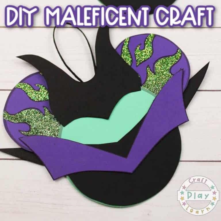 maleficent craft idea