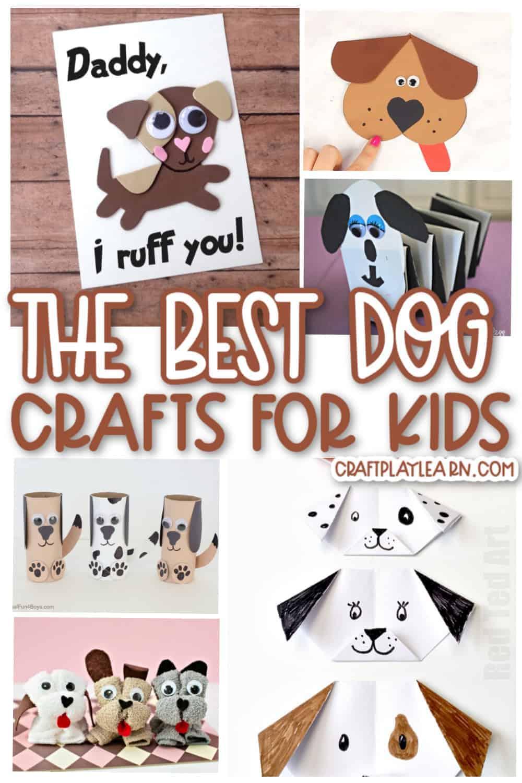 easy dog crafts for kids