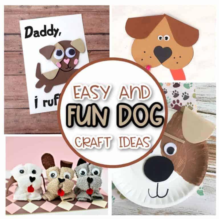 dog craft ideas for kids
