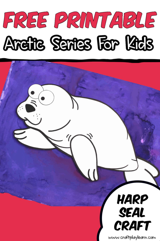 harp seal craft for kids